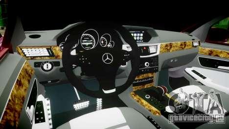 Mercedes-Benz W211 E55 AMG для GTA 4 вид сзади
