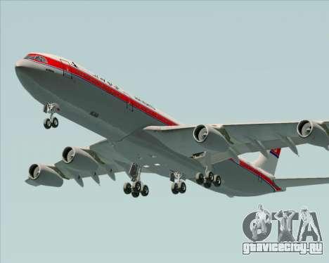 Airbus A340-300 Air Koryo для GTA San Andreas двигатель