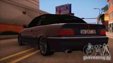 BMW M3 E36 Cabrio 34 DAT 29 для GTA San Andreas вид слева