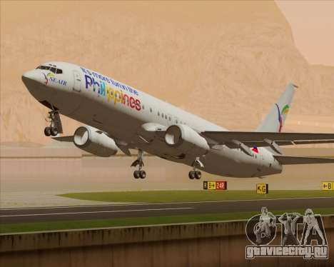 Boeing 737-800 South East Asian Airlines (SEAIR) для GTA San Andreas