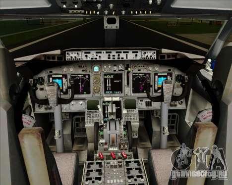 Boeing 737-800 Delta Airlines для GTA San Andreas салон