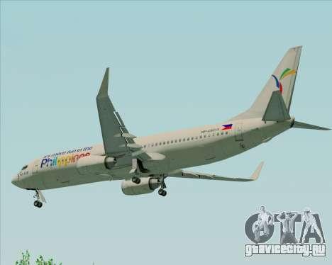 Boeing 737-800 South East Asian Airlines (SEAIR) для GTA San Andreas вид снизу