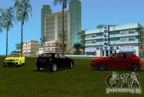 Daewoo Lanos Sport 2001 г. США для GTA Vice City вид сверху