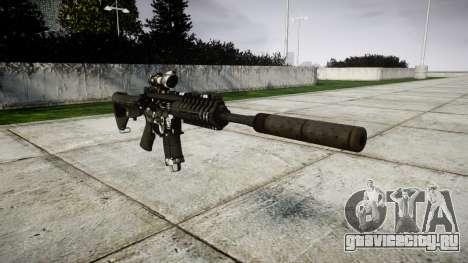 Автомат P416 ACOG silencer PJ3 для GTA 4