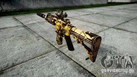 Автомат P416 ACOG silencer PJ4 target для GTA 4 второй скриншот