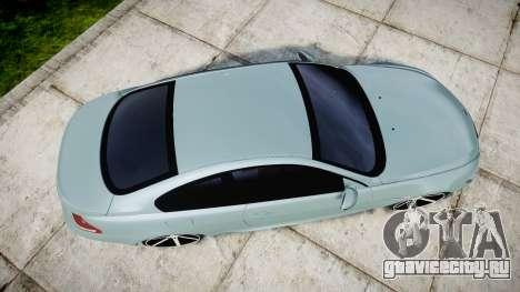 BMW M6 Vossen VVS CV3 для GTA 4 вид справа