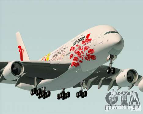 Airbus A380-800 Air China для GTA San Andreas двигатель