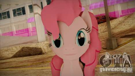 Pinkie Pie from My Little Pony для GTA San Andreas третий скриншот