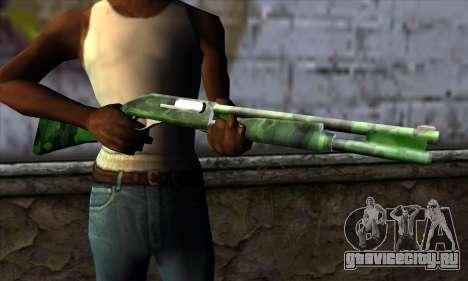 Chromegun v2 Военная раскраска для GTA San Andreas третий скриншот