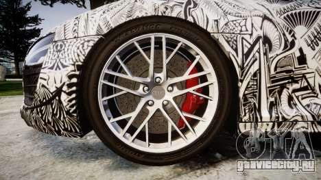 Audi R8 LMX 2015 [EPM] Sharpie для GTA 4 вид сзади