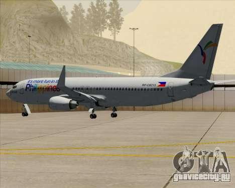 Boeing 737-800 South East Asian Airlines (SEAIR) для GTA San Andreas вид сверху