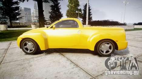 Chevrolet SSR для GTA 4 вид слева