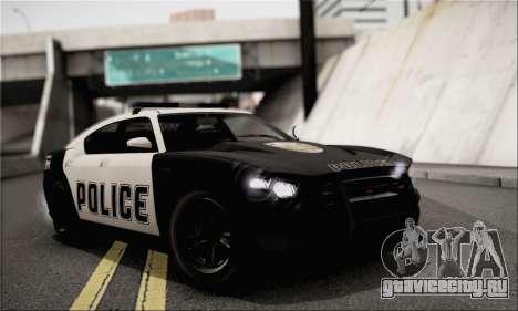 Bravado Buffalo S Police Edition (IVF) для GTA San Andreas