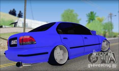 Honda Civic 34 TS 9640 INDIGO для GTA San Andreas вид слева