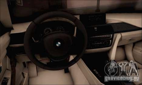 BMW F30 320d для GTA San Andreas вид сзади слева