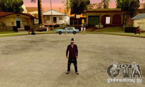 The Ballas Gang Skin Pack для GTA San Andreas третий скриншот