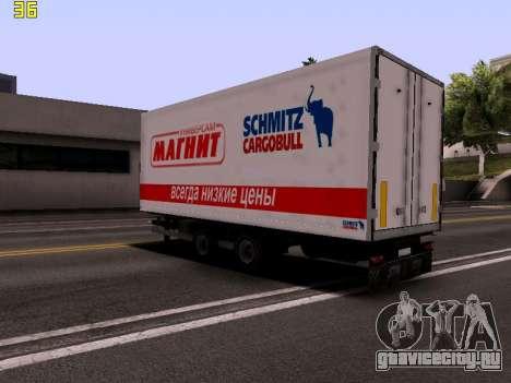 Прицеп Magnit для GTA San Andreas вид слева