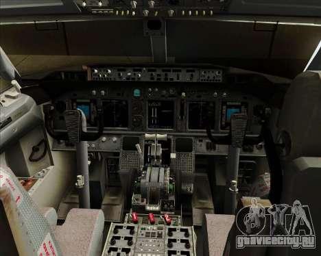 Boeing 737-8B6 Royal Air Maroc (RAM) для GTA San Andreas салон