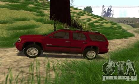 Chevrolet Tahoe Final для GTA San Andreas вид слева