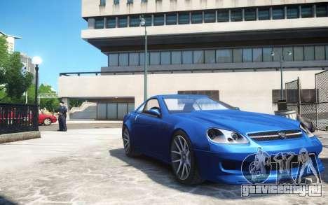 Benefactor Feltzer Grey Series v3 для GTA 4
