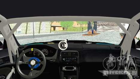 Nissan Silvia S14 Falken для GTA San Andreas вид сзади слева