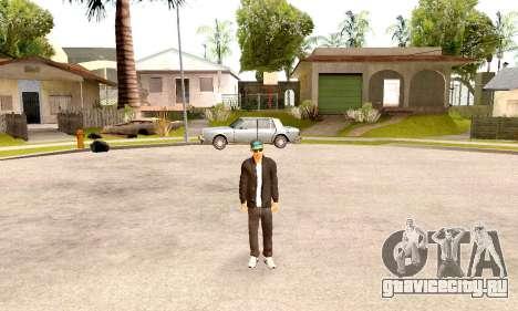 Varios Los Aztecas Gang Skin pack для GTA San Andreas