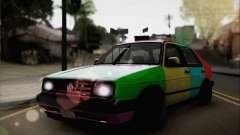 Volkswagen Jetta седан для GTA San Andreas