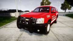Chevrolet Tahoe Fire Chief [ELS] для GTA 4