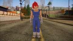 Vegeta Dios Skin для GTA San Andreas