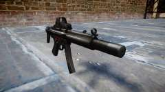 Пистолет-пулемёт MP5SD EOTHS CS b target