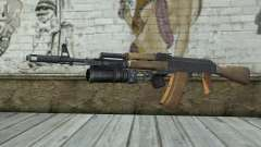 AK-74 С Подствольником для GTA San Andreas