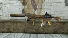 M4A1 Sopmod для GTA San Andreas