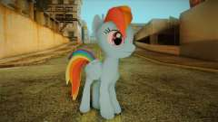 Rainbow Dash from My Little Pony для GTA San Andreas