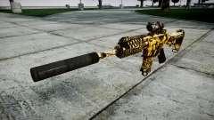 Автомат P416 ACOG silencer PJ4 target