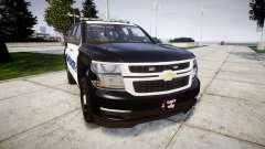 Chevrolet Tahoe 2015 Sheriff [ELS] для GTA 4