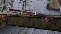 Chromegun v2 Цветная раскраска