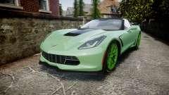 Chevrolet Corvette Z06 2015 TireCon для GTA 4