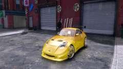 Nissan 350Z Fast And Furious Tokyo Drift для GTA 4