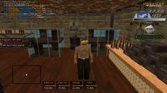 C- HUD A.C.A.B для GTA San Andreas