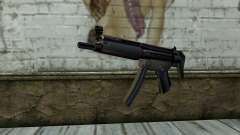 Retextured MP5 для GTA San Andreas