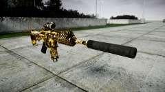 Автомат P416 ACOG silencer PJ4