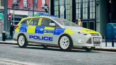 Met Police Ford Focus Estate IRV ELS 8 2013 для GTA 4