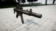 Пистолет-пулемёт MP5SD EOTHS CS для GTA 4
