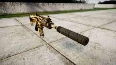 Автомат P416 silencer PJ4