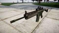 Автомат M4A1 target для GTA 4