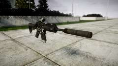 Автомат P416 ACOG silencer PJ3