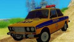 ВАЗ 2106 ГАИ для GTA San Andreas