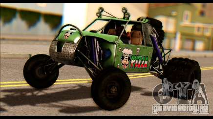 Buggy Fireball from Fireburst PJ для GTA San Andreas