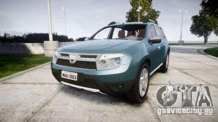Dacia Duster 2013 для GTA 4