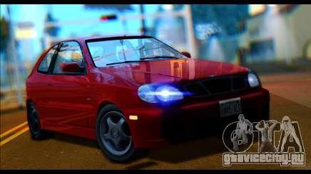 Daewoo Lanos Sport US 2001 для GTA San Andreas